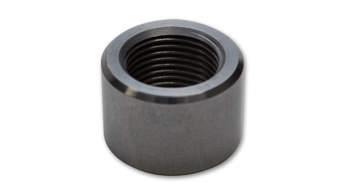 -10 AN Female Weld Bung (7/8in -14 Thread) - Mild Steel