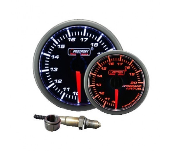 52mm Electrical 'Premium' Wideband Air/Fuel Gauge - Amber/White