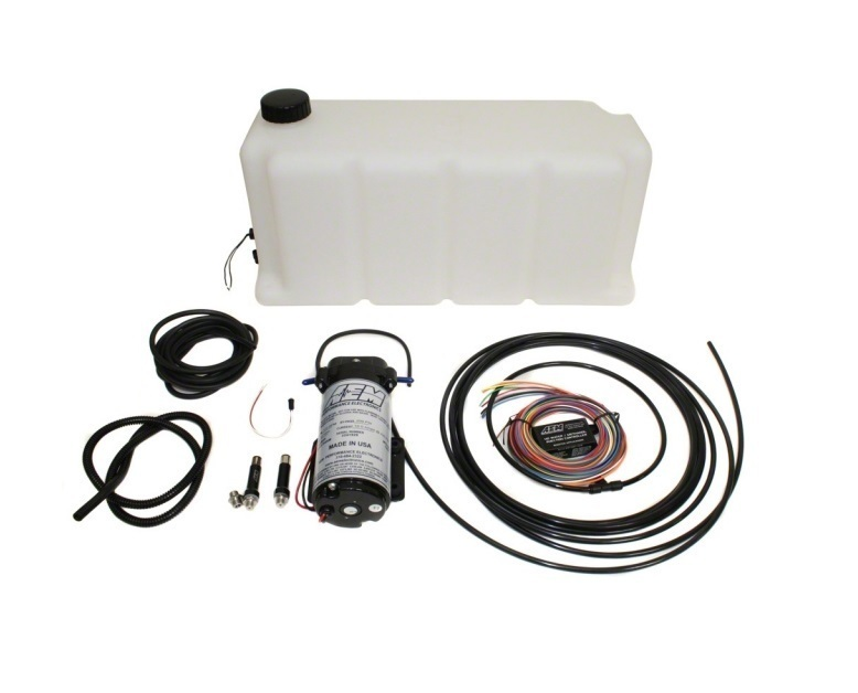 V2 Water/Methanol Injection Kit, Multi Input Controller with 5 gallon Tank