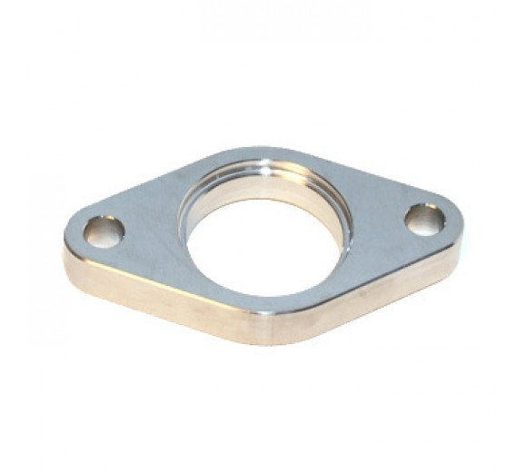 38mm Wastegate Inlet Flange 304L Stainless Steel Threaded