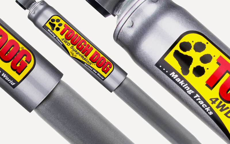 2x 35mm Nitro Gas Rear Shocks (inc Patrol/Rocky)