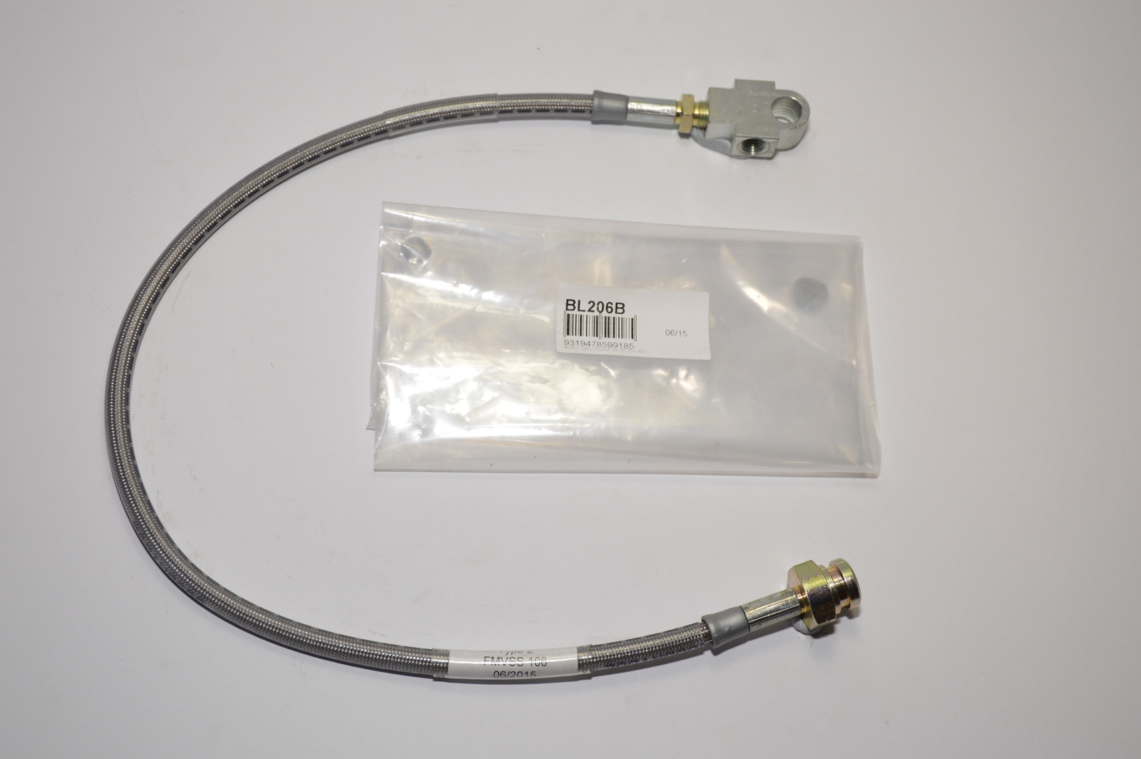 Braided Extended Brake Line - Front (Patrol GU Non-ABS 5-6in Lift)