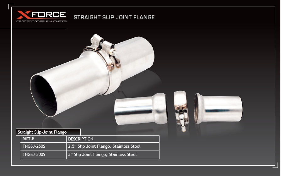 3in Slip-Joint Flange, Stainless Steel