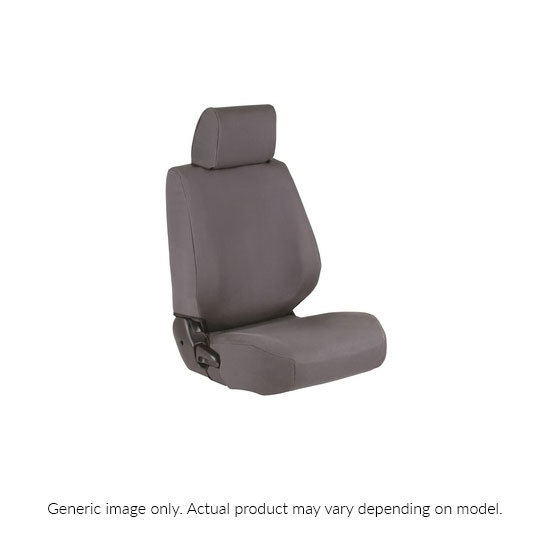 Canvas Comfort Seat Covers - Front Bucket Pair (Landcruiser 76, 78, 79 Series)