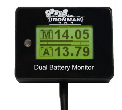 12V Digital Battery Monitor (suits single and dual battery setups)