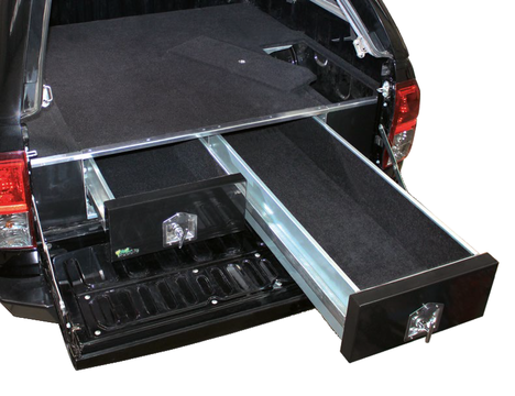 Locksafe Twin Drawers Wing Kit - 1000mm (Landcruiser 80 Series GXL/Lexus LX 450)