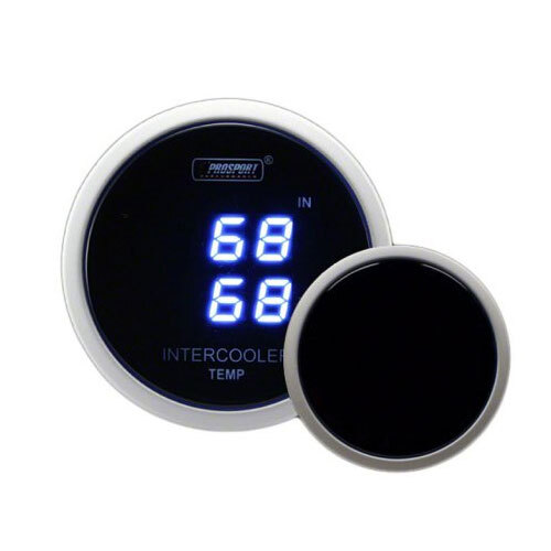 52mm Dual Intercooler Air Temperature Gauge
