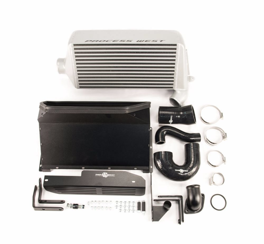 Verti-cooler Intercooler System (Forester XT 08-12) - Silver Core