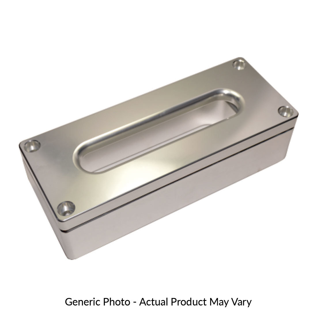 Alloy Fairlead With 60mm Spacer - Silver