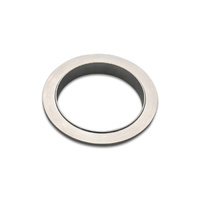Aluminum V-Band Flange for 2.5in OD Tubing - Male