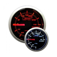 52mm Electrical 'Performance' Boost Gauge - Amber/White