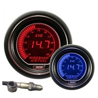 52mm Electrical 'Evo' Wideband Air/Fuel Gauge - Red/Blue