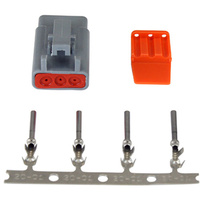 DTM-Style 3-Way Plug Connector Kit