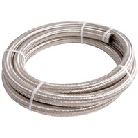 100 Series Stainless Steel Braided Hose -20AN 3m