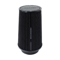 Clamp-On Tapered Filter - Black
