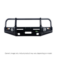 Deluxe Commercial Bull Bar - Black (Pajero NW-NX)
