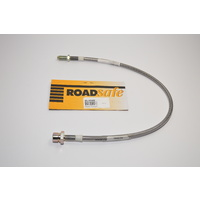 Braided Extended Brake Line - Front (Landcruiser 80/105 Series)