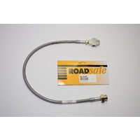 Braided Extended Brake Line - Front Right (Patrol GU ABS 5-6in Lift)