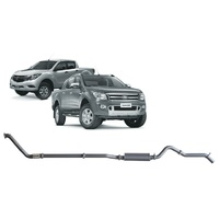 Extreme Duty 3in Turbo Back Exhaust w/Muffler (Ranger/BT-50 3.2L)