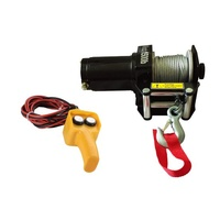 Electric ATV Winch 1500lbs 12v Steel Cable