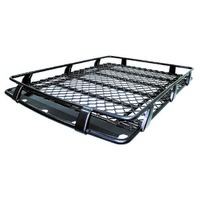 Alloy Roof Racks Cage Style - 1.8m x 1.25m (inc Colorado/Patrol/Landcruiser/Prado)