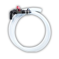 1.5m Plastic Water Hose Kit - Connects to nipple outlet on water tanks