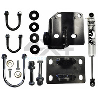 Fox 10in Steering Damper + High Clearance Bracket Kit (Patrol GQ-GU)