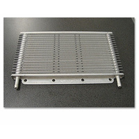 Transmission Oil Cooler 280x150x19mm (5/16 Barb)