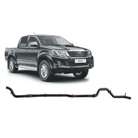 3in Turbo Back Exhaust No Cat/Pipe only (Hilux 05-15 3.0L)