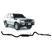 3in Turbo Back Exhaust w/Cat + Large Muffler (Landcruiser 100 Series)