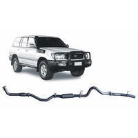 RXD Dump Pipe Back Exhaust System (LandCruiser 100 Series 98-08)