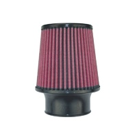 "8-Layer Oiled Cotton Gauze Air Filter (3"" Flange ID, 5"" Base / 5"" Media Height / 4"" Top)"