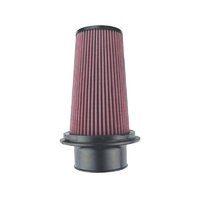 "8-Layer Oiled Cotton Gauze Air Filter (3.75"" Flange ID, 7.0"" Twist Lock Base / 8.80"" Media Height / 5"" Top)"