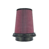 "8-Layer Oiled Cotton Gauze Air Filter (4"" Flange ID, 6.0"" Twist Lock Base / 6.30"" Media Height / 4"" Top)"