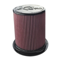 "8-Layer Oiled Cotton Gauze Air Filter (6"" Flange ID, 9.5"" Twist Lock Base / 8.5"" Media Height / 7"" Top)"
